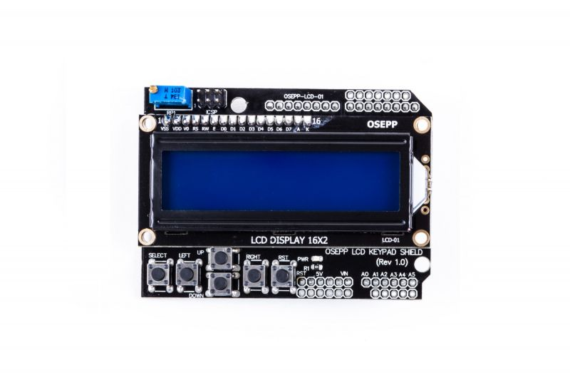 OSEPP - Arduino Compatible Products - 16×2 LCD Display