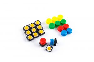 OSEPP - Arduino Compatible Products - Tactile Button Assortment